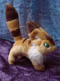 Teto Fox Squirrel Plush Toy Studio Ghibli por TheAnimeForest