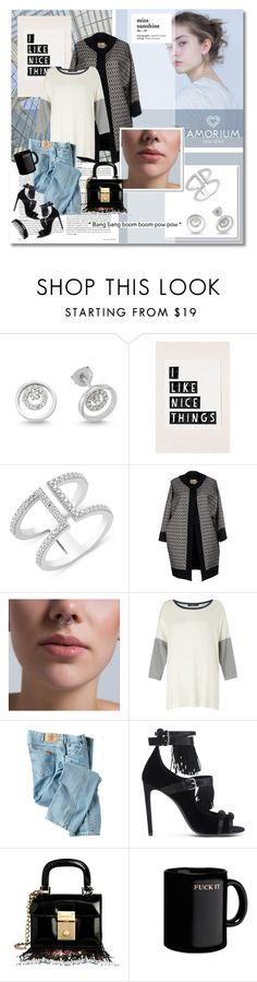 """Jewels mon amour series #2 Amorium.com"" by undici on Polyvore featuring Amorium, FAUSTO PUGLISI, Weekend Max Mara, Dickies, Giambattista Valli and Dsquared2"