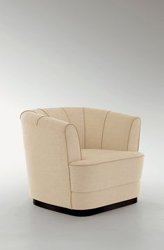 Claire' armchair for Heritage Collection, September 2014