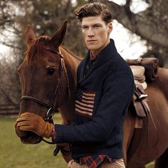 Love Ralph Lauren's flag sweater.