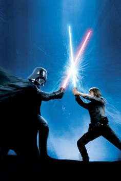 Darth Vader Vs. Luke Skywalker
