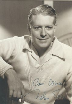 Vintage, signed photo of Nelson Eddy - ESCANO COLLECTION