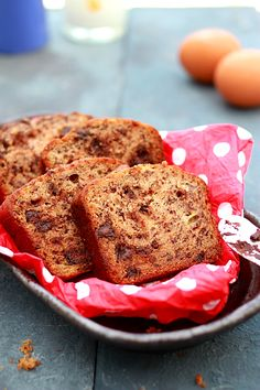 Banana Chocolate Bread - everyone, including the baby, loved this recipe!