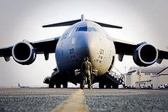 C-17 Globemaster III...My son flies this!