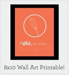Roundup: 22 Free Kitchen Wall Art Printables