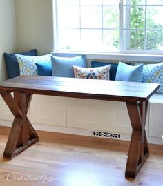 Summer Pinterest Challenge: X Base Table