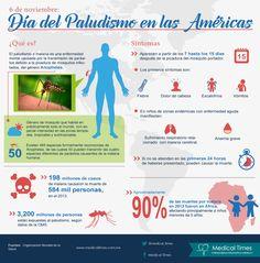 Día del Paludismo en las Américas, Infografía Médica, Medical Times