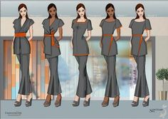 Fashionizer Spa works alongide clients for its spa uniform programmes. See our bespoke spa tunics & trousers for The Sanctuary, London