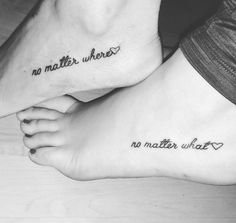 Take your friendship to the next level and get a tattoo with your BFF! If you're looking for something that's not too over the top, we have found some tiny friend Tattoo 102 Tiny Tattoos For Big-Time Besties Tatoo Best Friends, Cute Best Friend Tattoos, Matching Best Friend Tattoos, Bestie Tattoos Bff, Small Matching Tattoos, Tattoos Skull, Mini Tattoos, Cute Tattoos, Small Tattoos