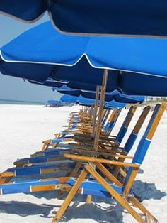 Umbrellas on the beach....