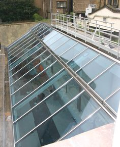 VRS is a panel based glass roof system with profiles in stainless steel. VRS rooflight is characterized by a modern and exclusive design as well as slim and shallow profiles. U-values available of 1.5 W/m²K with double glazing and down to 1.1 W/m²K with triple glazing roof windows.
