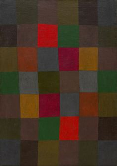 Paul Klee, New Harmony, 1936. Oil on canvas, 36 7/8 x 26 1/8 inches (93.6 x 66.3 cm)