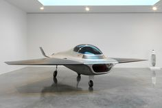 kelvin40 by Marc Newson, 2003 a small idiosyncratic jet plane named after the main character in tarkovsky's 'solaris' and commissioned by fondation cartier...