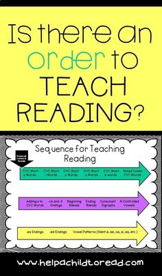 How to Teach Your Child to Read - Sequence for Teaching Reading Give Your Child a Head Start, and.Pave the Way for a Bright, Successful Future. Kindergarten Reading, Teaching Reading, Guided Reading, Kids Reading, Homeschool Kindergarten, Reading Strategies, Reading Skills, Reading Comprehension, Reading Lessons