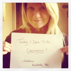 "Natalie Grant  ""Today I Dare to Be Courageous!"""