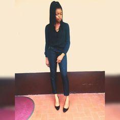 Fashion All black fashion