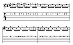 Metallica, Ozzy, Guns N' Roses, AC/DC, Deep Purple guitar riffs. Chords, tab, videos. Accurate transcriptions, theory, and videos