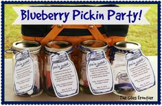 Blueberry Pickin Party #Blueberries, #Canning, #Farming, #Fruit, #Gardening, #Homeschool #SimpleandFrugalLiving
