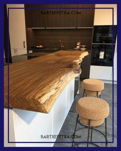 Kitchen counter Kitchen counter Kitchen block Kitchen Wooden counter www. Wood Slab Countertop, Cheap Countertops, Wooden Counter, Countertop Materials, Concrete Countertops, Kitchen Countertops, Fireplace Remodel, Diy Fireplace, Küchen Design