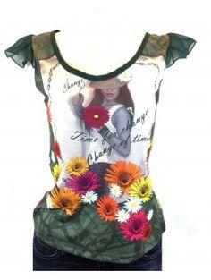 Camiseta SMASH estampada TALLA L