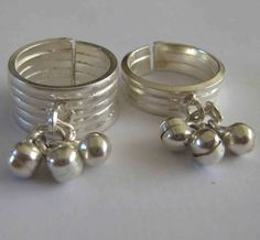 Search results for: 'indian-silver-toe-ring-plain-design-bells' Silver Anklets Designs, Anklet Designs, Gold Bangles Design, Silver Jewellery Indian, Indian Jewellery Design, Silver Jewelry, Jewellery Designs, Gold Jewellery, Jewelery