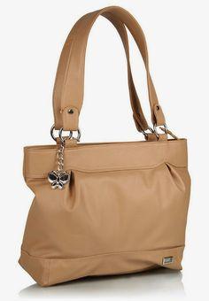 Butterflies Handbag (Beige)(BNS 0378)