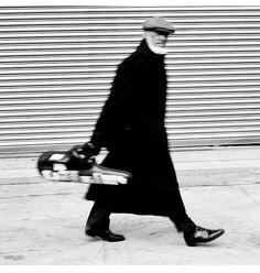 Sonny Rollins, West 26th Street New York, 1998. Photograph by Jimmy & Dena Katz