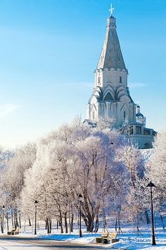 Russian winter :: Kolomenskoe #20 by moviegear_rus, via Flickr