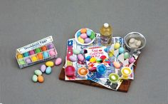 Egg Decorating-just in time for Easter ~ How ADORABLE is this MINIATURE!  :)