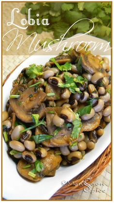 """Lobia-Mushrooms & rants on """"Some"""" Campaigns - Monsoon Spice 