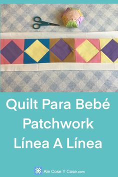Quilt Para Bebe Patchwork Paper Piecing, Ale, Home Decor, Farmhouse Rugs, Scrappy Quilts, Tv Wall Hanging, Solid Colors, Cotton Canvas, Workbenches