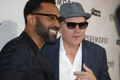 Actor/Comedian Mike Epps and Starz 'Survivors Remorse' Creator Mike O'Malley; Photo Credit: Jonell Media PR via Steed Media Mike O'malley, Survivor's Remorse, Mike Epps, Crew Team, Black Tv, Making A Movie, Man Humor, Best Actor, Comedians
