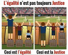 Égalité vs Justice
