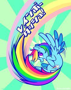 My Little Pony : MLP : Rainbow Dash