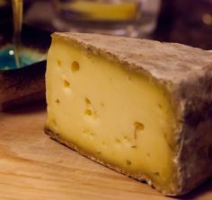 Tomme de Savoie. If you like cheese you should try this cheese from the French Alps some time. It's divine!