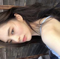 Light Blue Aesthetic, Bad Girl Aesthetic, Petty Girl, Solo Photo, Korean Face, Ulzzang Korean Girl, Cute Poses, Model Face, Korean Actresses