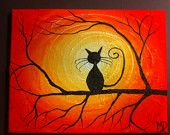 Original Whimsical Acrylic Painting- What Can I See  - 8 x 10, acrylic on canvas, ready to hang, ORIGINAL by Michael H. Prosper$25.00