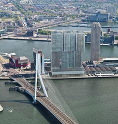 Artist Impressions Exterieur - De Rotterdam. #buildings #architecture #010 #rotterdam
