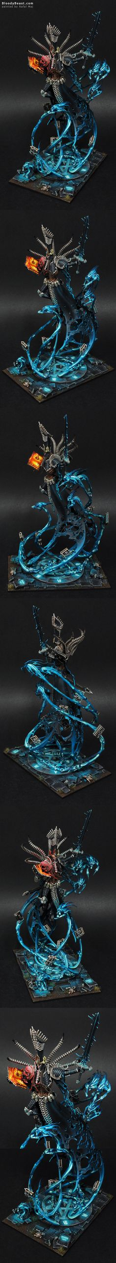 Nagash, Supreme Lord of the Undead painted by Rafal Maj (BloodyBeast.com)