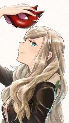 Persona 5 Ann, Persona 5 Joker, Galaxy Art, Fantasy Warrior, Video Game Art, Kawaii Anime Girl, Poses, Tag Art, Fire Emblem