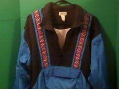 LAVON Cheerful Vintage  Women's Size L  Jacket Coat Windbreaker Blue #LAVONCheerfulcorp #TrackJacket