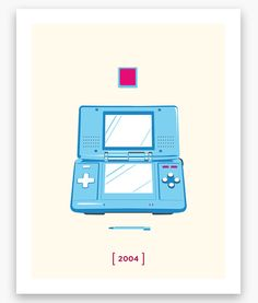 Nintendo Minimalist H Series Nintendo DS Poster 11 x by Helvebula, $15.50 #gaming #gamer #Nintendo #art