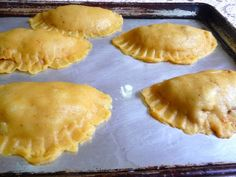 Before Baking Out of the oven    MIRACLE DOUGH MEAT PIES This dough makes lovely meat pies and the pastry tastes amazing! I used my Oldey Timey Beef Stew for the filling (just make sure not to use to