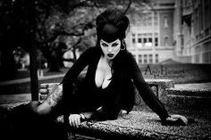 Beautiful goth girl