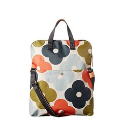 Orla Kiely | USA | bags | SALE - Bags | Giant Flower Spot Print Foldover Tote (16SEGFS094) | multi