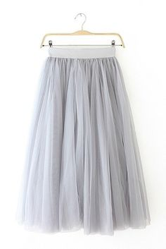 "Size + Fit: - This item is Final Sale - Multi layered tulle - US Size: S/M - 2/4 - EUR Size: S/M - 34/36 - Length: 31.9"" / 81cm - Model is wearing size small - Measurements taken from size small Conte"