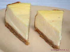 Recept na přípravu, dnes již celosvětově proslulého tvarohového zákusku. Cheesecakes, Nutella, Food And Drink, Cupcakes, Sweets, Baking, Recipes, Deserts, Pies