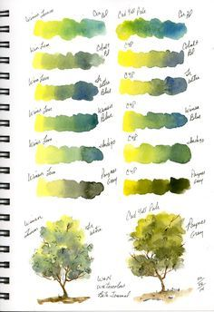 sbwatercolors and sketching: Stillman & Birn Beta Journal New Pages Watercolor Mixing, Watercolor Journal, Watercolor Painting Techniques, Watercolour Tutorials, Watercolor Sketch, Watercolour Painting, Painting & Drawing, Watercolors, Watercolor Landscape Tutorial