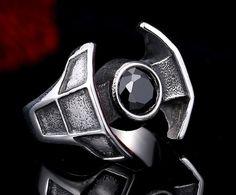 Star Wars Darth Vater Logo Ring