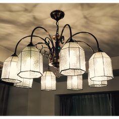 Sophyさんの、壁/天井,照明,シャンデリア,LED,のお部屋写真
